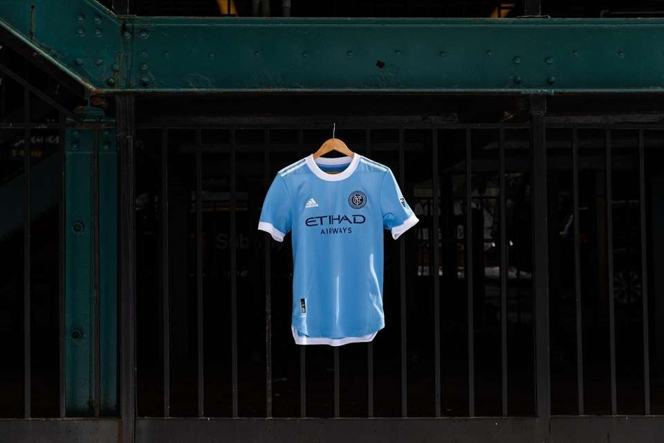 A look at NYCFC's new home jersey ahead