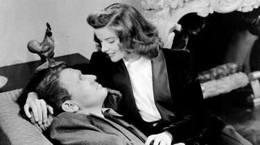 Spencer Tracy and Katharine Hepburn star in