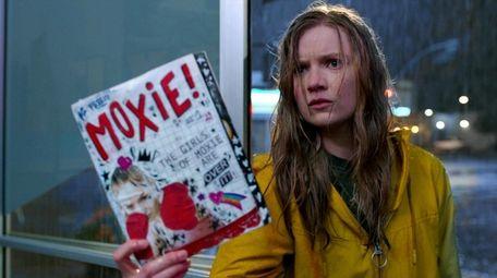 "Hadley Robinson as Vivian in Netflix's ""Moxie."""