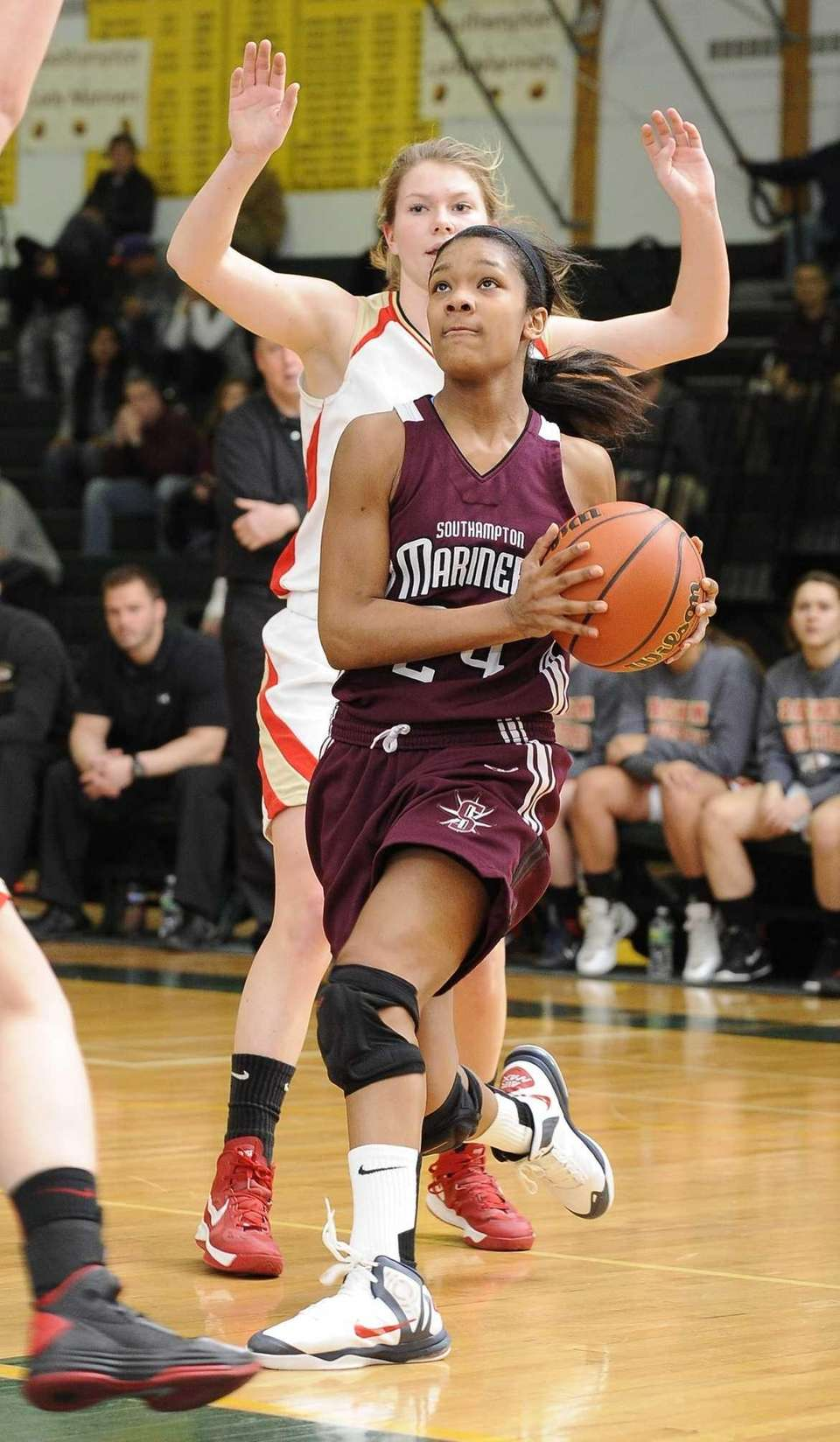 SECOND TEAM Staci Barrett, Long Island Lutheran, F,