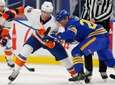 Sabres forward Cody Eakin and Islanders forward Brock