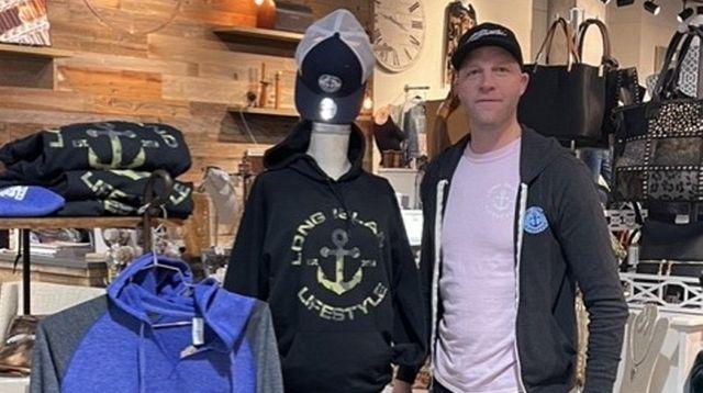 Thomas Graf sells his Long Island Lifestyle clothing