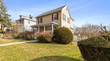 Priced at $749,000, this three-bedroom, 1½-bathroom Colonial on