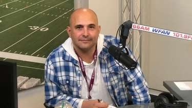 Craig Carton in the WFAN studios on Oct.