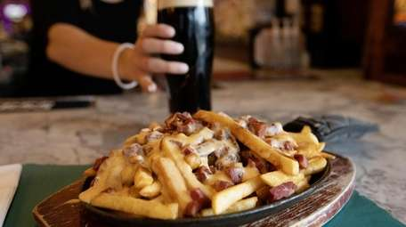 Poutine at the Irish Times Pub in Holbrook.
