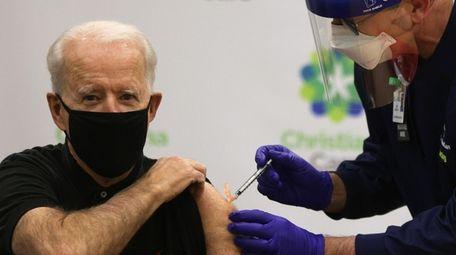 President Joe Biden supports health officials' warnings that