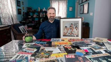 Ron Seifried's love of the Fab Four comes