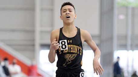 Jack Ward of St. Anthony's wins the 1,000-meter