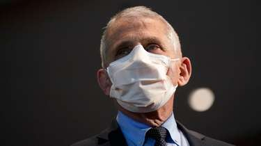 Dr. Anthony Fauci urged state officials to wait
