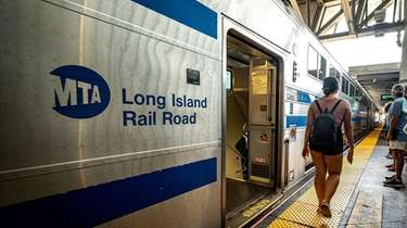 LIRR weekday ridership has climbed to more than