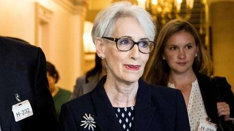 Wendy Sherman, former Under Secretary of State for