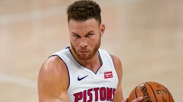Detroit Pistons forward Blake Griffin in Detroit on