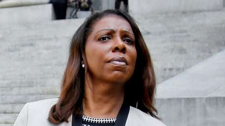 Attorney General Letitia James, seen here in 2018,