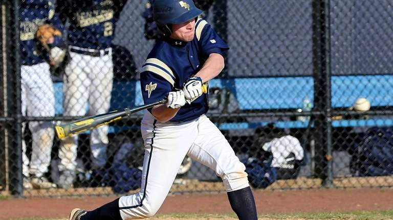Bayport-Blue Point's Matt White connects for a hit