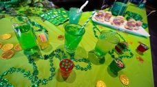 The Irish-themed pop-up bar at the Nutty Irishman