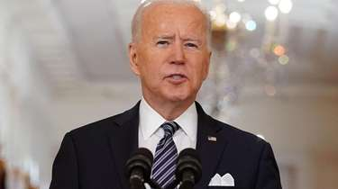 In his first prime-time address, President Joe Biden'