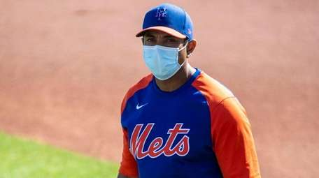 Mets manager Luis Rojas said he would not