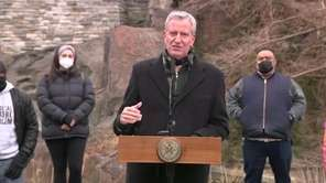 On Tuesday, Mayor Bill de Blasio announced that