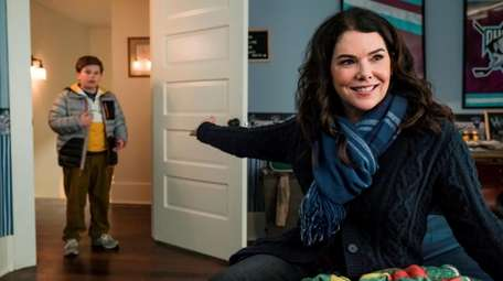 "Brady Noon and Lauren Graham in ""The Mighty"