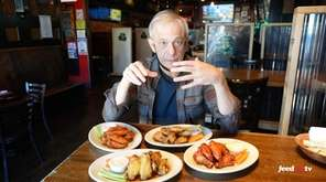 Newsday food critic Scott Vogel tries unusual flavors