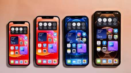 In October Apple unveiled four iPhones, all of
