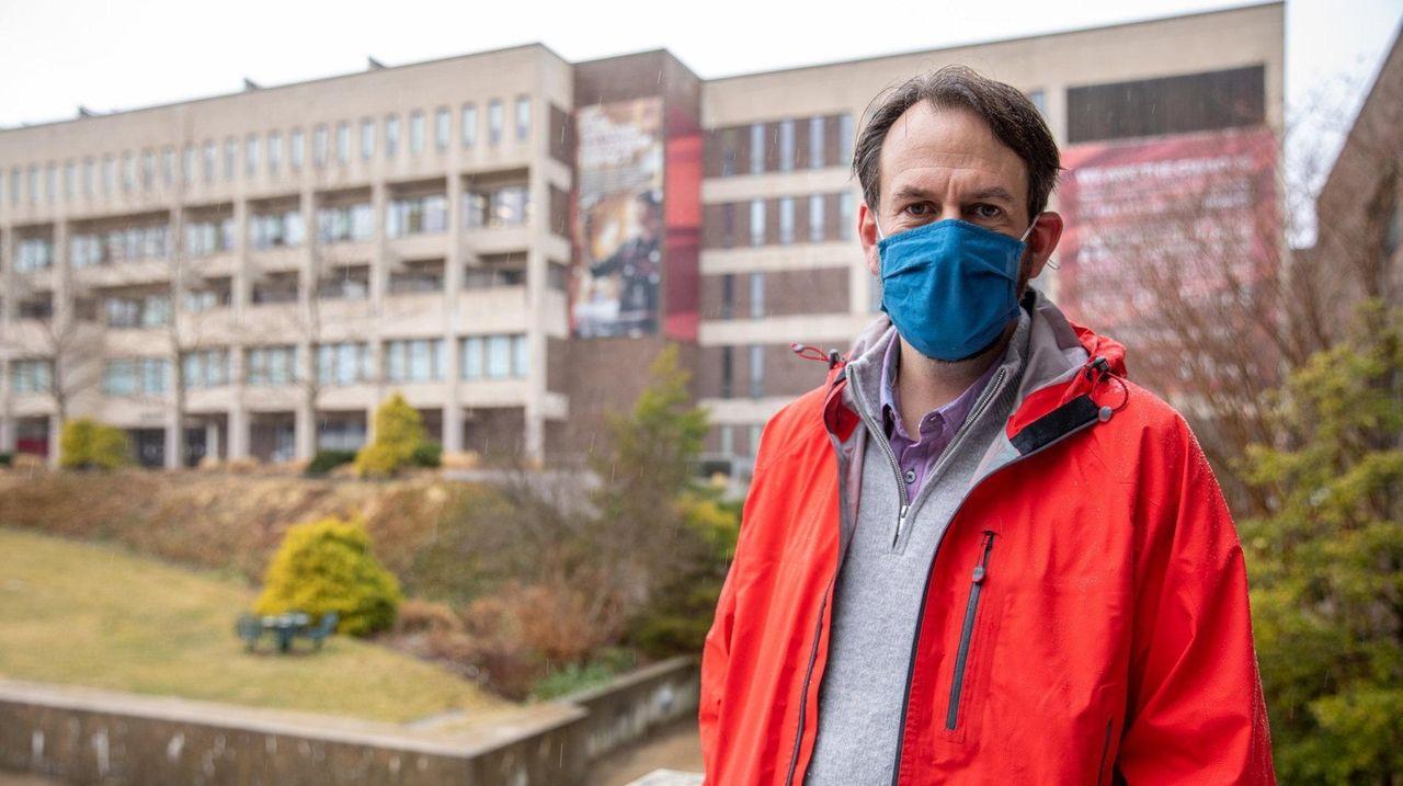 Associate professor of public health Sean Clouston at