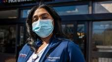 Kerita Jackson, of Centereach, is a nurse at