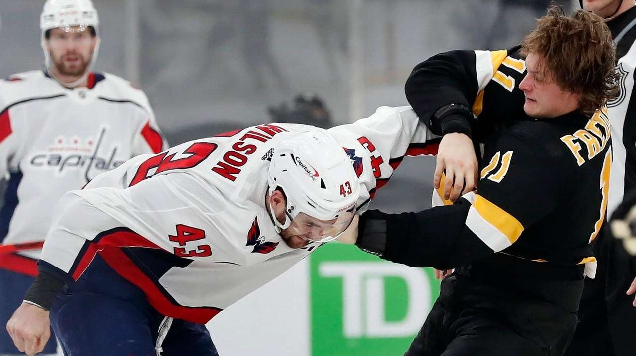 Capitals Tom Wilson Eligible To Return From Suspension Saturday Vs Rangers Newsday