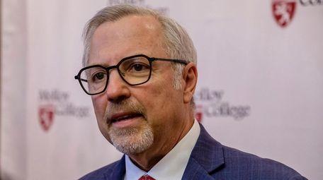 Molloy University President James Lentini.