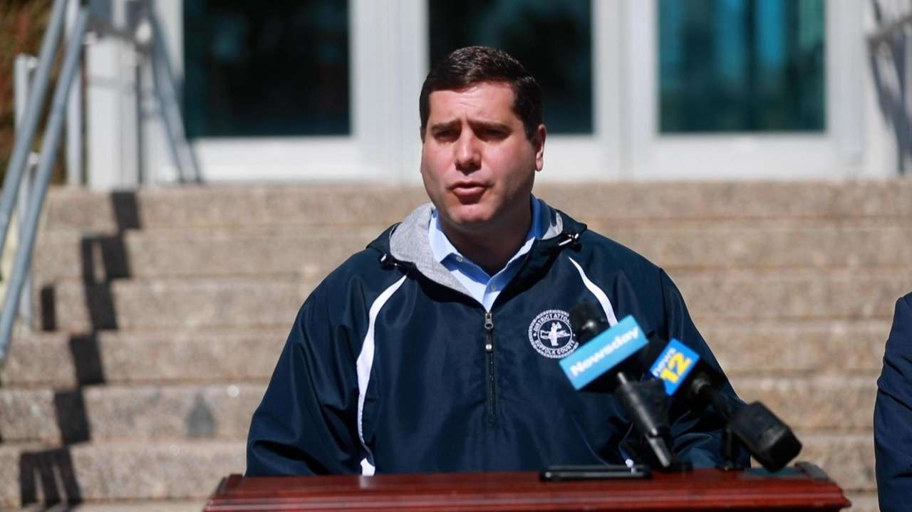 Suffolk County District Attorney Timothy Sini on Sunday