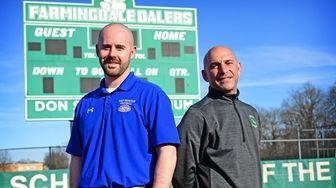 East Meadow High School athletic trainer Dan DeSimone