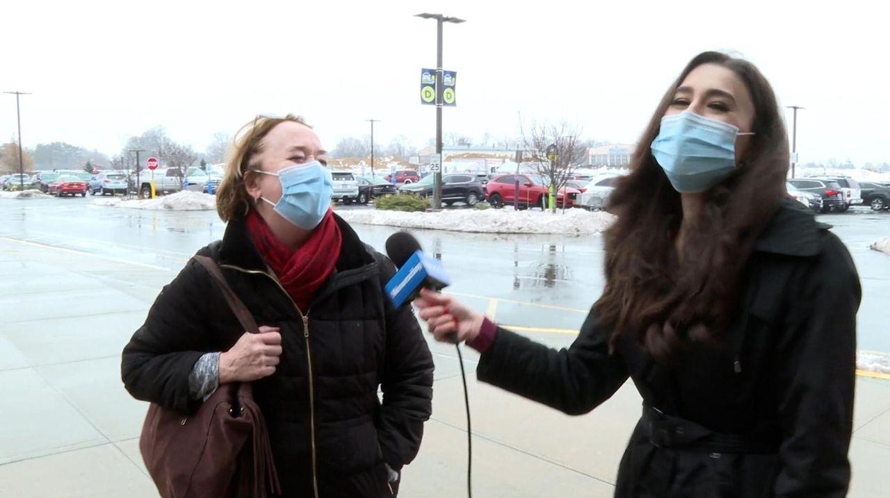 Newsday's Marissa Sarbak took to the streets of