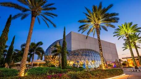 The Exterior of the Salvador Dali Museum at