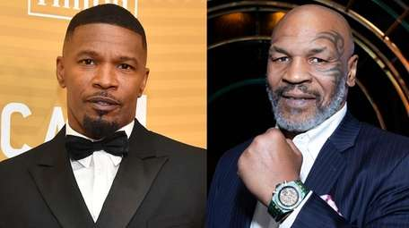 Jamie Foxx, left, is set to play Mike