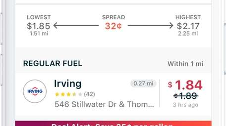 Find the lowest gas prices in your neighborhood
