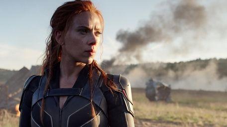 """Scarlett Johansson in Marvel Studios' """"Black Widow."""""""