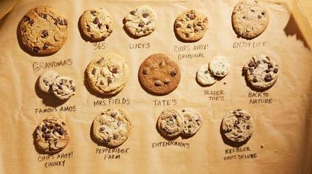 Tasters ranked the best chocolate chip cookies from