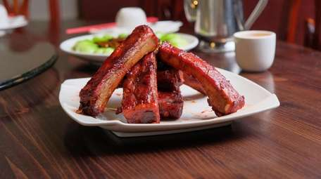 BBQ pork spare ribs at Cheng Du in