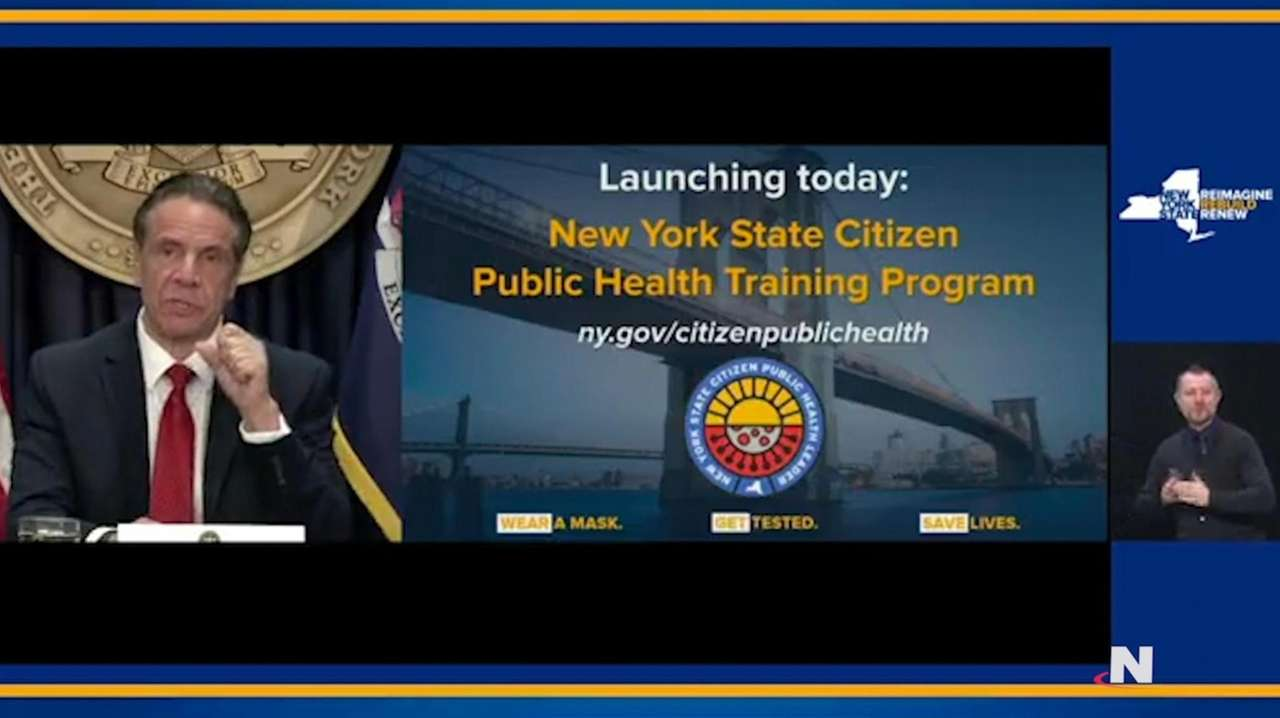 Gov. Andrew M. Cuomo on Wednesday announced a