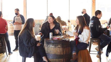 Marissa Nani, Samantha Jones and Amanda Liboreiro from