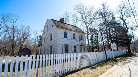 The Homan-Gerard House, which dates to 1820, is
