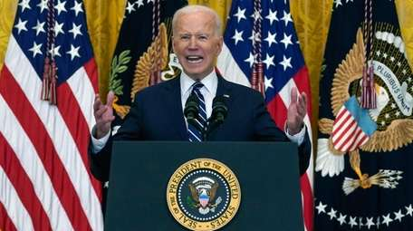 President Joe Biden on Thursday at his first