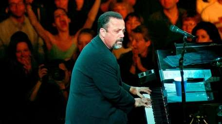 Billy Joel in concert on opening night at