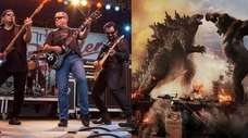 Members of Blue Öyster Cult perform at the