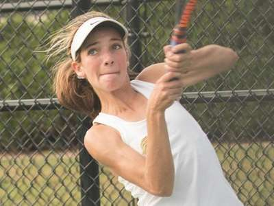 Rose Hayes, of McGann-Mercy High School, during the