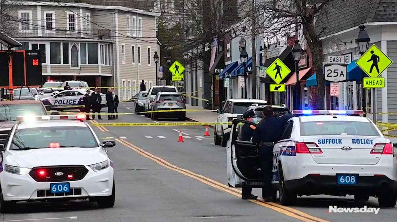 A 25-year-old Shirley man was shot dead on