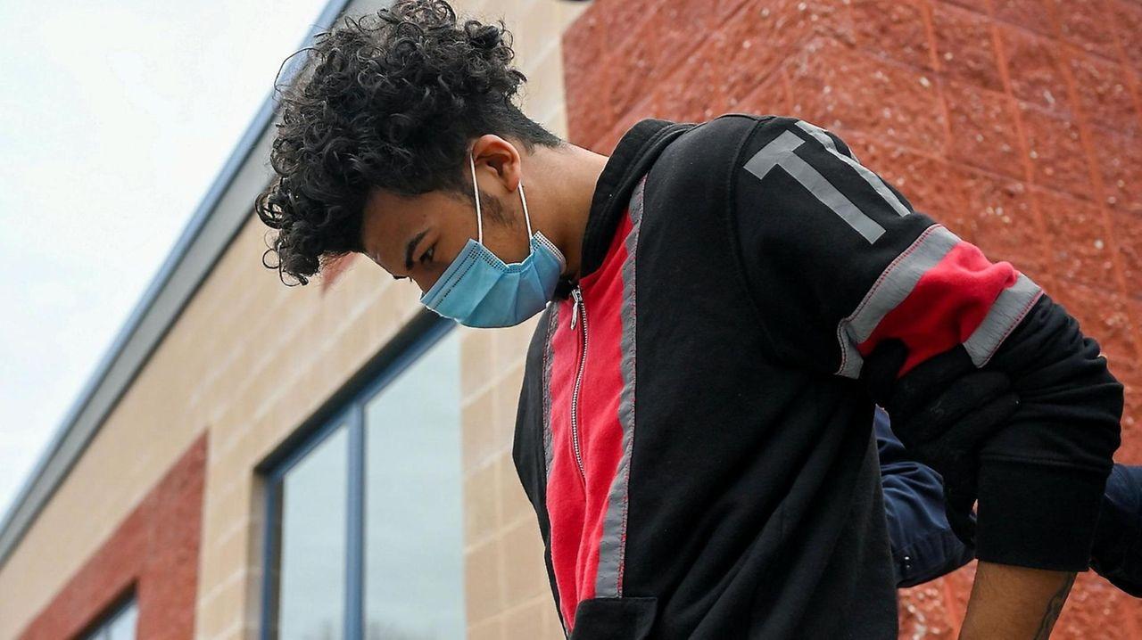 Joseph Garcia, 19, was arraigned on Sunday and
