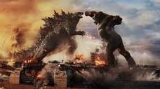 "Two Titans face off in ""Godzilla vs. Kong,"""