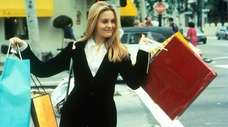 """Shopping was Alicia Silverstone's bag in """"Clueless,"""" a"""