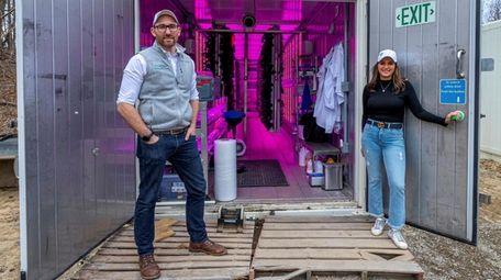 Ryan and Aneta McGann, co-owners of HygrOrganic Farm,